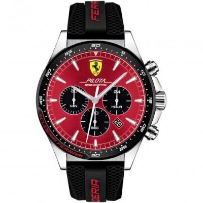 Orologio Uomo Ferrari Cronografo Pilota FER0830595