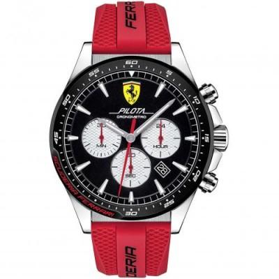 Orologio Uomo Ferrari Cronografo Pilota FER0830596