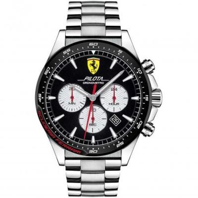 Orologio Uomo Ferrari Cronografo Pilota FER0830599