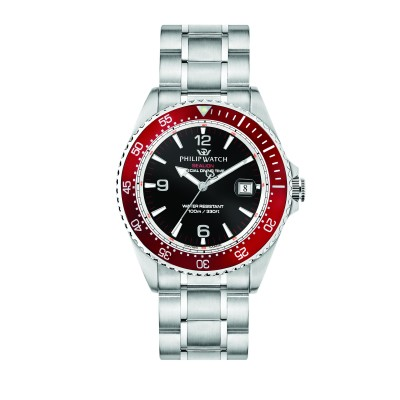 Orologio Uomo Philip watch Solo tempo, 3h Sealion R8253209002