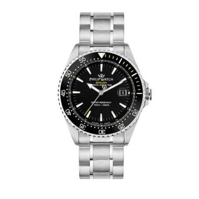 Orologio Uomo Philip watch Solo tempo, 3h Sealion R8253209003
