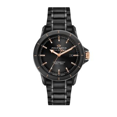 Orologio Uomo Philip watch Solo tempo, 3h Grand reef R8253214003