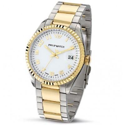 Orologio Uomo Philip watch Tempo e data Caribe R8253597016