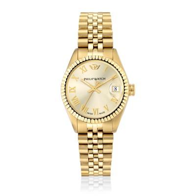 Orologio Donna Philip watch Solo tempo, 3h Caribe R8253597555