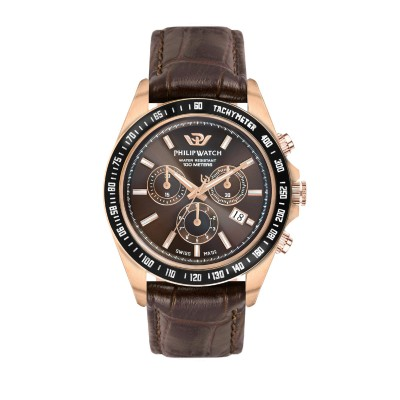 Orologio Uomo Philip watch Cronografo Caribe R8271607001