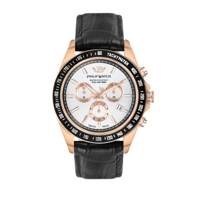 Orologio Uomo Philip watch Cronografo Caribe R8271607002