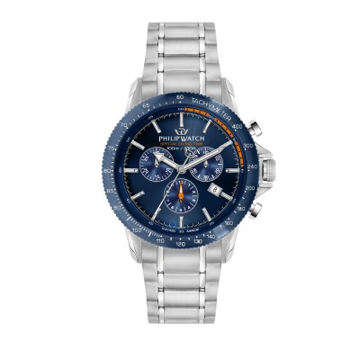Orologio Uomo Philip watch Cronografo Grand reef R8273614004