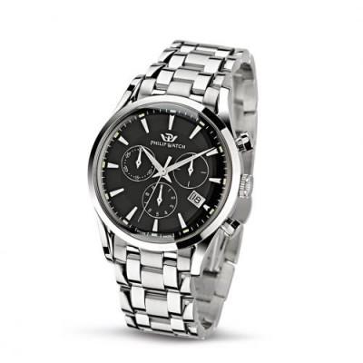 Orologio Uomo Philip watch Cronografo Sunray R8273908165